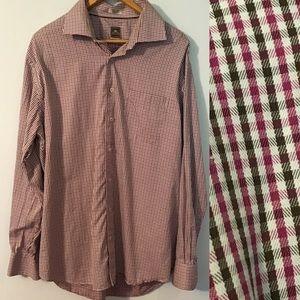 Peter Millar Shirts - Peter Millar Plaid Button Down